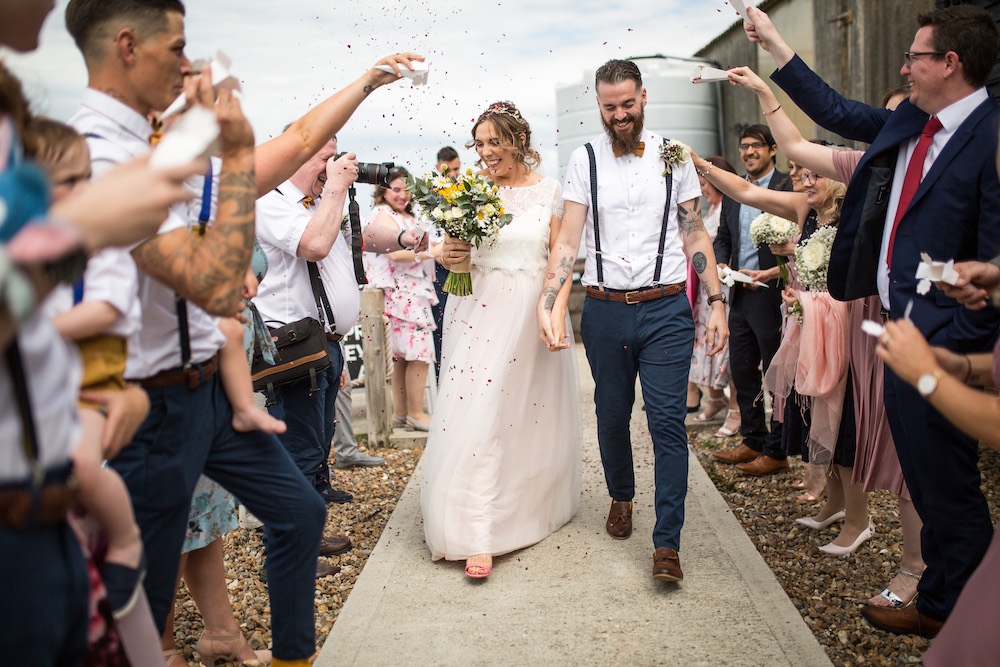 Alex + Wes, East Quay Venue, Whitstable, Kent Wedding - Florence Berry Photography-208