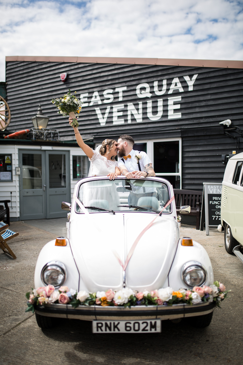 Alex + Wes, East Quay Venue, Whitstable, Kent Wedding - Florence Berry Photography-226