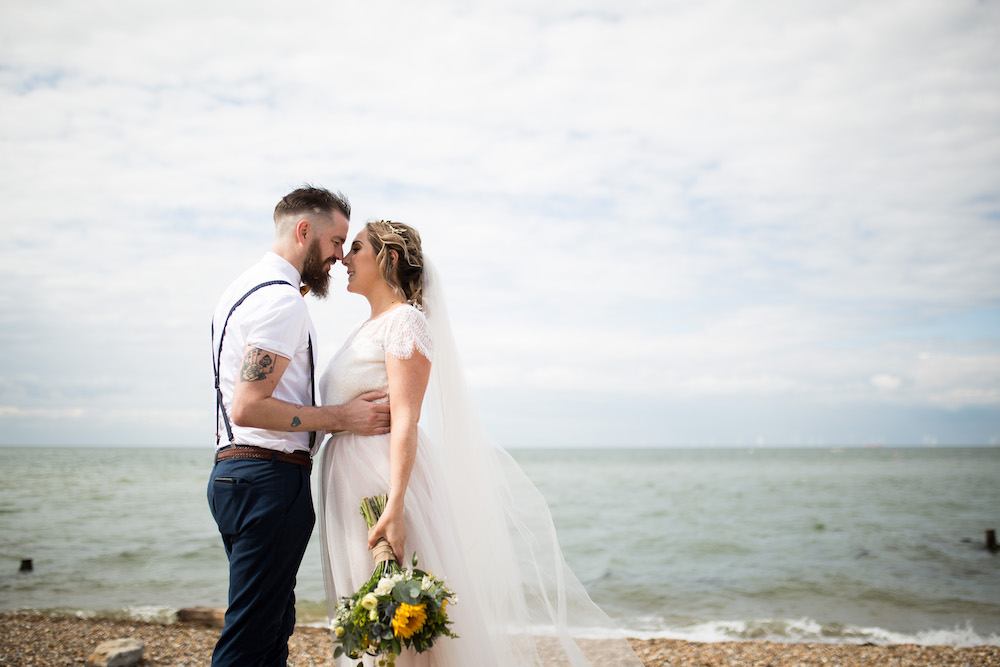 Alex + Wes, East Quay Venue, Whitstable, Kent Wedding - Florence Berry Photography-307