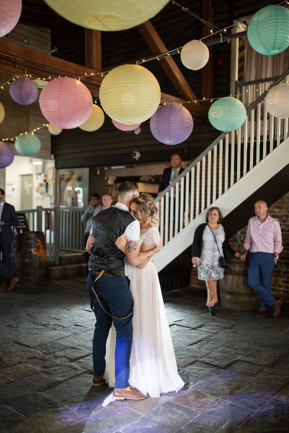 Alex + Wes, East Quay Venue, Whitstable, Kent Wedding - Florence Berry Photography-497