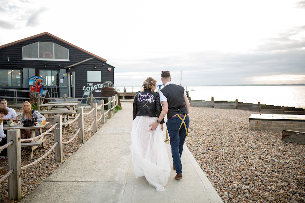 Alex + Wes, East Quay Venue, Whitstable, Kent Wedding - Florence Berry Photography-527
