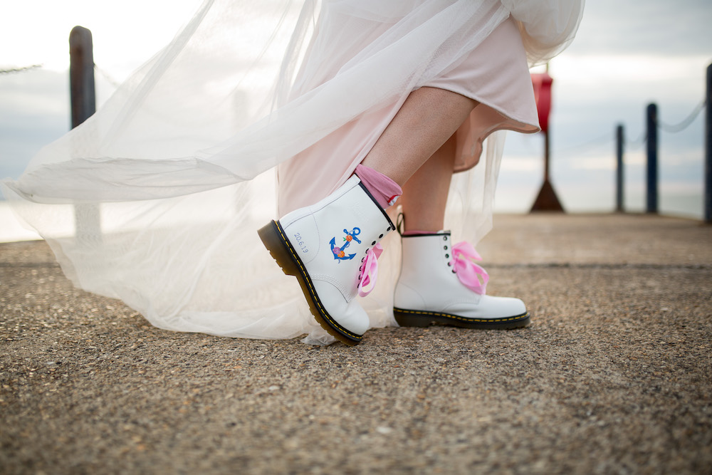 Alex + Wes, East Quay Venue, Whitstable, Kent Wedding - Florence Berry Photography-546